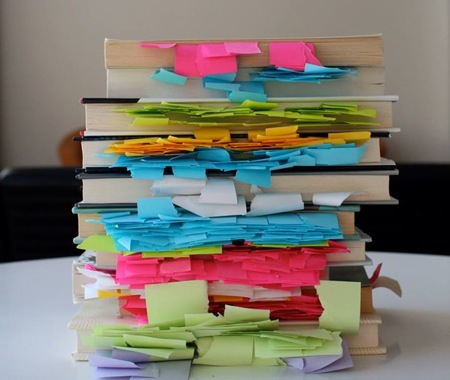 post-it books